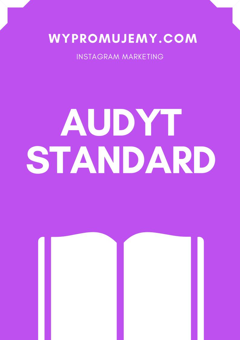Audyt-profilu-standard-promowanie-instagrama-wypromujemy.com